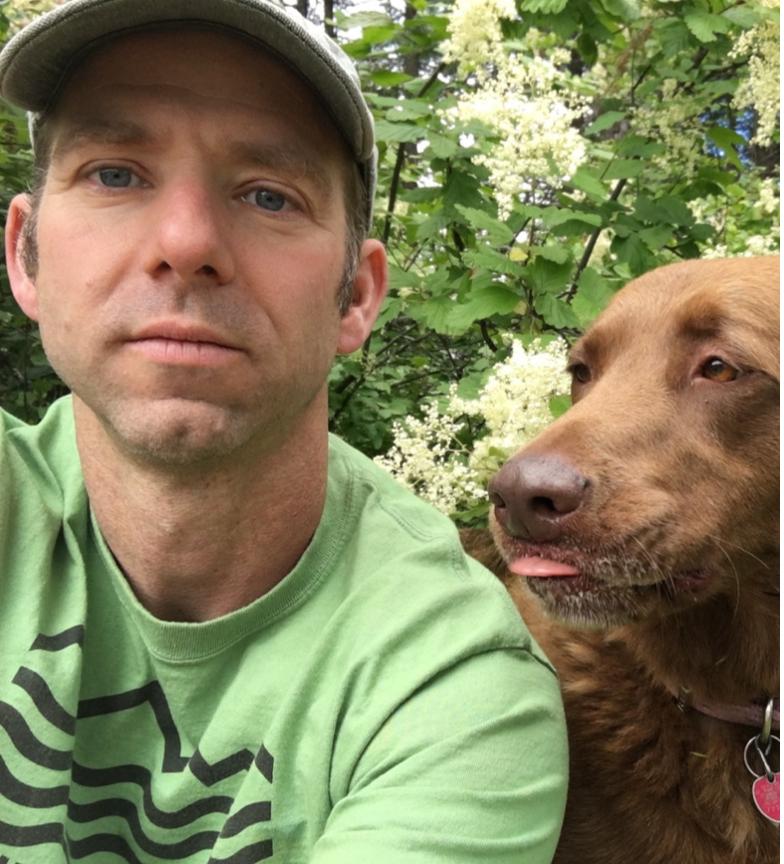 Matt Pollard & Dog